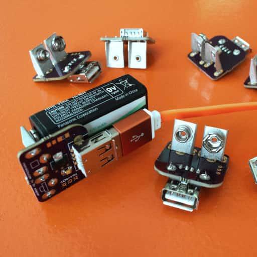 RK403 9v 5v power converter
